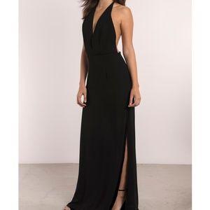 Tobi Glow Black Maxi Dress L